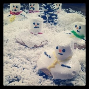 melted snowman cookies recipe and video