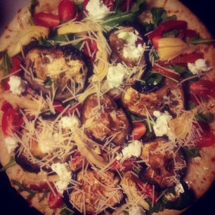 roasted vegetable and ricotta pizza recipe 2