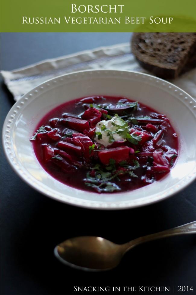 Borscht Russian Beet Soup Recipe