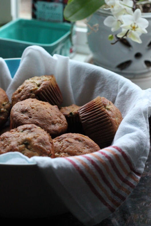 banana zucchini bread and muffins (11)