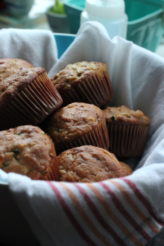 banana zucchini bread and muffins (9)