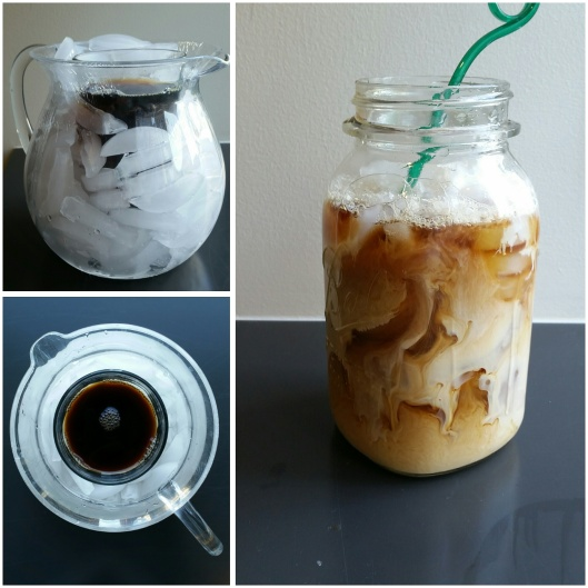 how to make iced coffee cold brew
