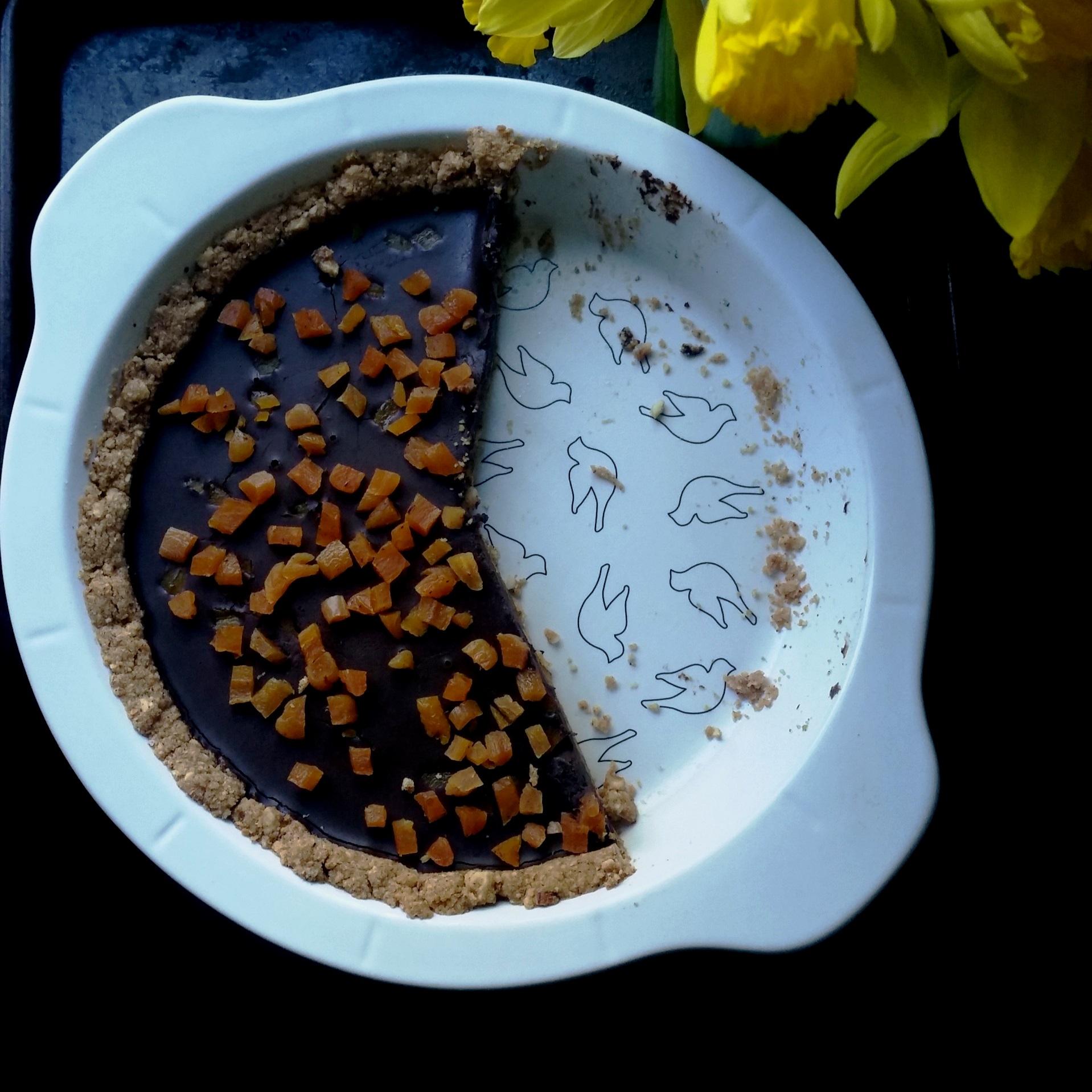 Chocolate Hazelnut Tart Recipe Giada