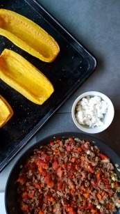 Roasted Delicata Squash with Lamb (4)