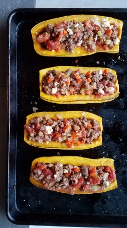 Roasted Delicata Squash with Lamb (6)