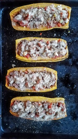 Roasted Delicata Squash with Lamb (7)